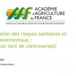Risques sanitaires et environnementaux : pourquoi tant de controverses ?