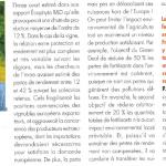 «Farm to Fork» : des objectifs détaillés et réalistes seraient plus efficaces pour réduire les phytos» – magazine VITI (septembre 20)
