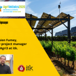 "itk at Agrivoltaïcs 2020: ""Defining the best dynamic shading strategies with SunAgri3"""