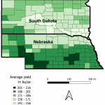 Crop production: itk allows to predict county-level yield in the USA earlier than USDA