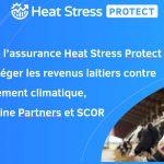 Communiqué : ITK lance l'assurance Heat Stress Protect pour protéger les revenus laitiers contre le changement climatique, avec Skyline Partners et SCOR